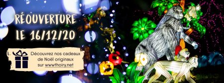 ouverture zoo thoiry noel 2020