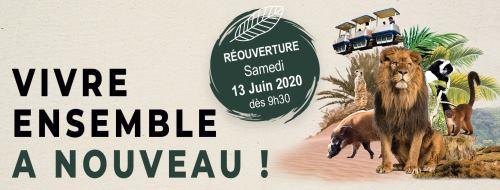 Touroparc ouverture 2020 tarifs horaires