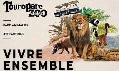 touroparc zoo tarif ouverture horaire