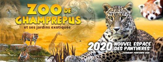 zoo champrépus ouverture horaire tarif